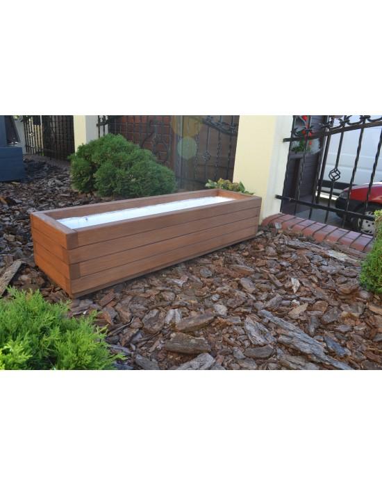 Duża donica drewniana 120/35/30